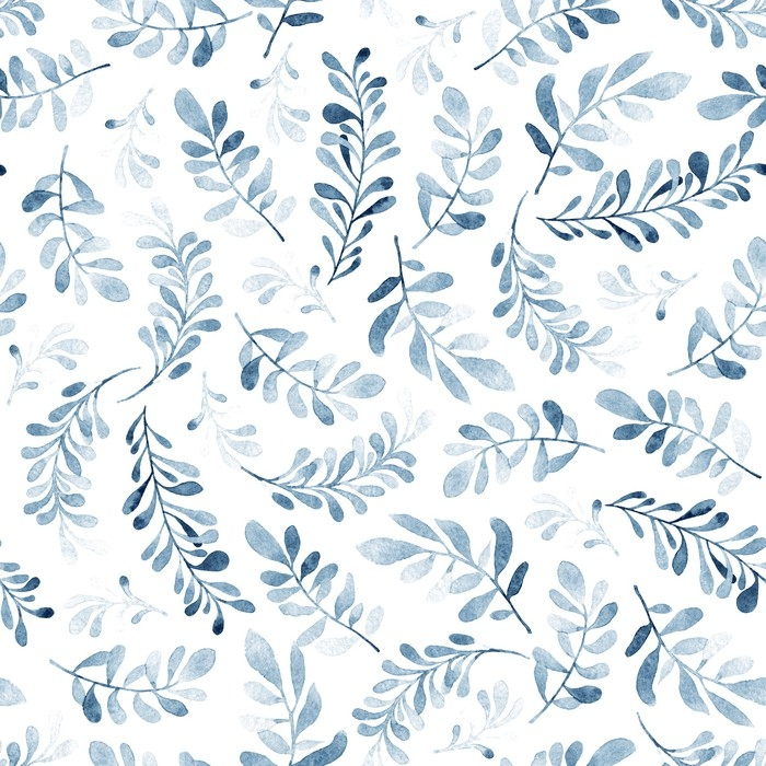 Watercolor seamless pattern of blue branches isolated on white watercolor seamless pattern of blue branches isolated on white background winter mood floral background mightylinksfo