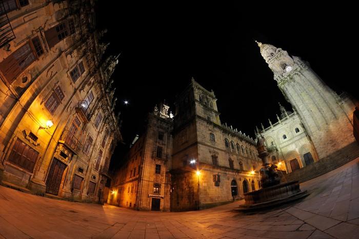 Vinylová Tapeta Santiago de Compostela - Náboženství