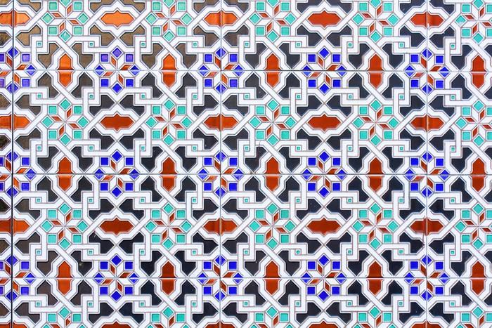Vinylová Tapeta Mosaic maroc - Struktury