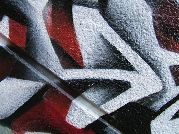 Vinylová Tapeta Šipka (detail graffiti) - Umění a tvorba