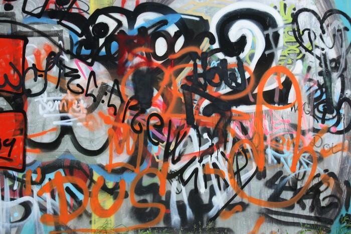 papier peint art de la rue pixers nous vivons pour changer. Black Bedroom Furniture Sets. Home Design Ideas