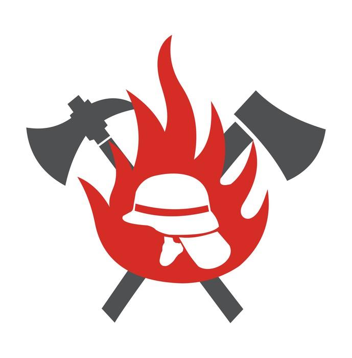 fototapeta hasi u010di logo  u2022 pixers u00ae  u2022  u017dijeme pro zm u011bnu fireman's tools clip art Fireman Tools Clip Art Black and White
