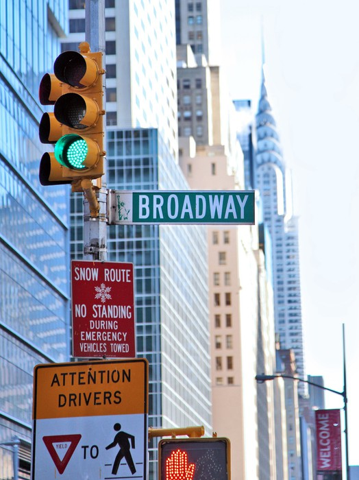 Leinwandbild Die stadt new york - Themen