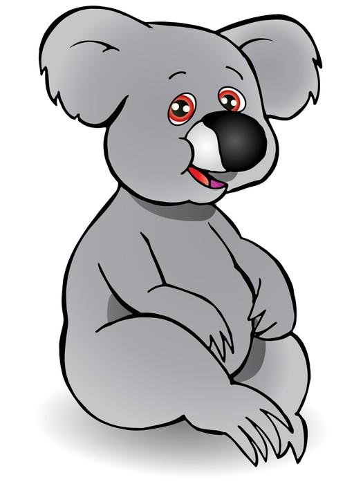 Vinylová Tapeta Koala - Savci