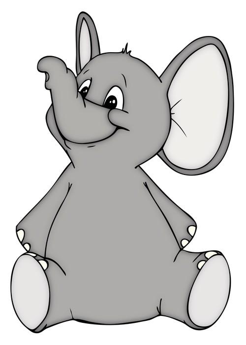 fototapete elefant elefantenbaby baby zoo zirkus. Black Bedroom Furniture Sets. Home Design Ideas