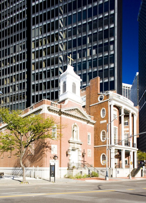 Vinylová Tapeta Saint Elizabeth Ann Seton své svatyně, Manhattan, New York, USA - Americká města