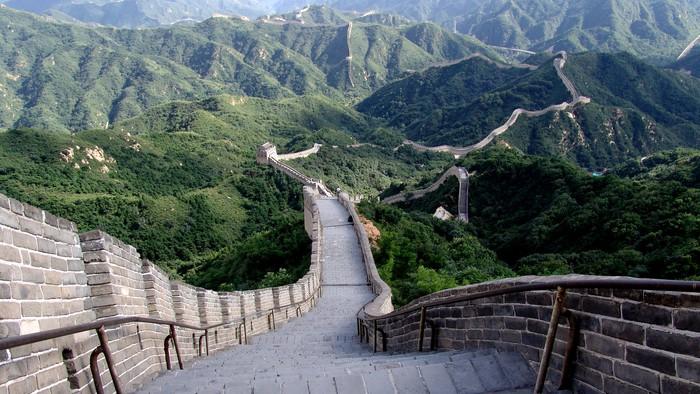 Vinilo pixerstick la gran muralla de china pixers for Vinilos para murallas