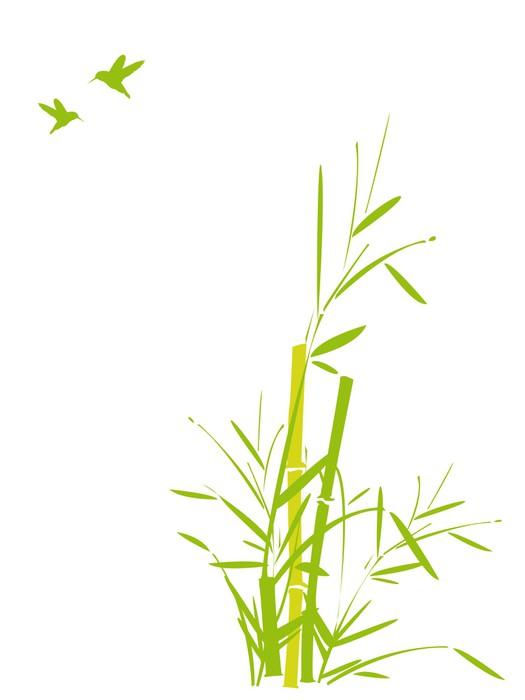 aufkleber bambus und v gel fliegen pixers wir leben um zu ver ndern. Black Bedroom Furniture Sets. Home Design Ideas