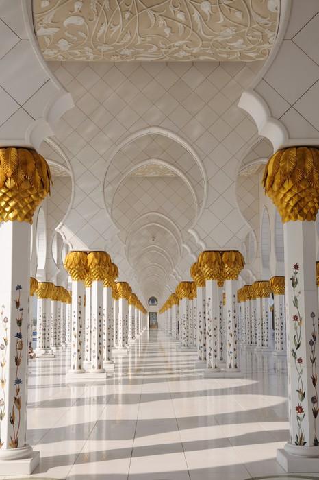 Vinylová Tapeta Detail Sheikh Zayed mešity, Abu Dhabi, UAE - Témata