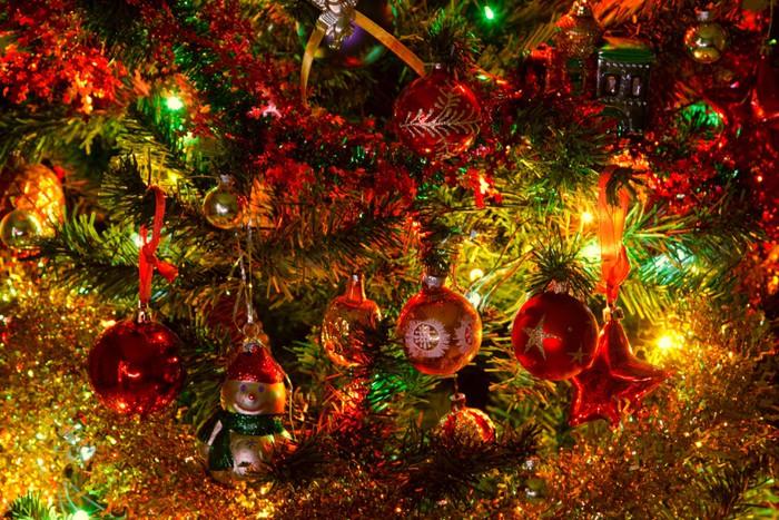 Vinylová Tapeta Vánoční stromeček - Pozadí