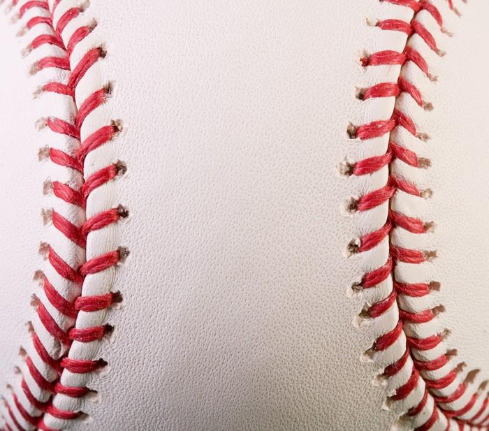 Vinylová Tapeta Makro New Baseball - Outdoorové sporty