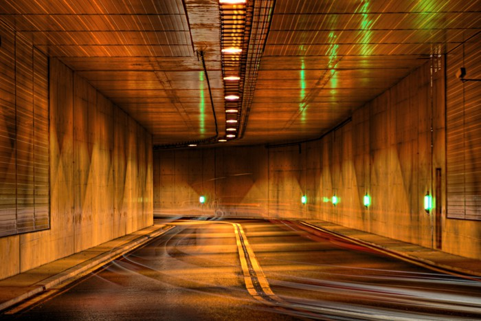 Vinylová Tapeta Tunel v noci - Témata