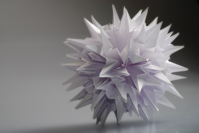Vinylová Tapeta Origami kusudama Virus - Styly