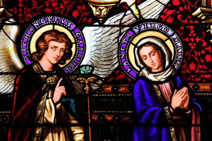 Vinylová Tapeta Vierge Marie et Archange Gabriel - Témata