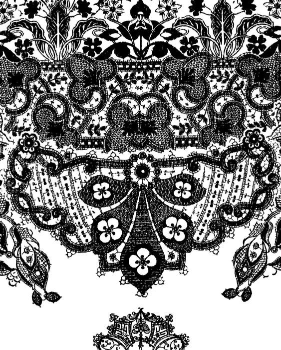 Vinylová Tapeta Paisley ilustrace - Styly