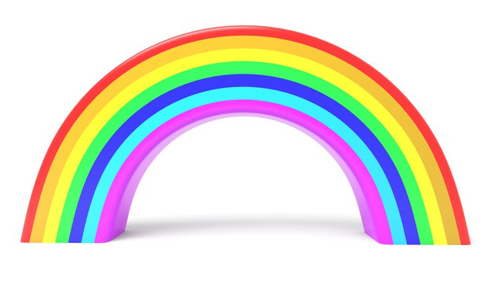 Rainbow Wall Decal   Wall Decals