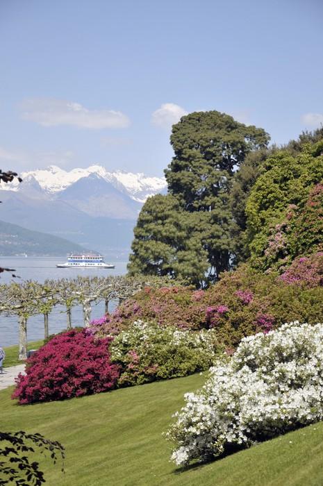 Vinylová Tapeta Zahrady Villa Melzi na jezeře Como - Evropa