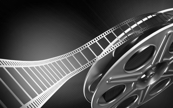 Tableau sur Toile Bobine de film cinéma - Thèmes