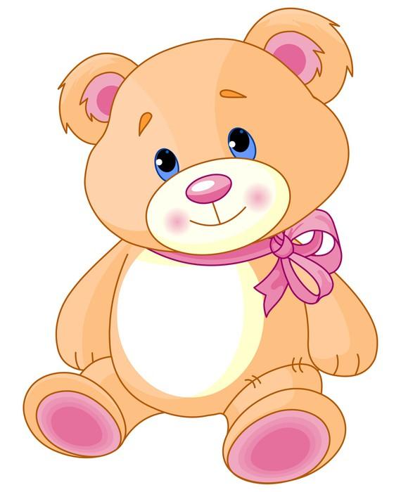 teddy bear sticker pixers we live to change