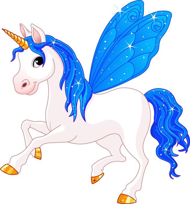 Vinylová Tapeta Fairy Tail Indigo koně - Nálepka na stěny