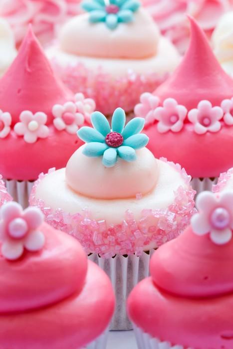 Pixerstick Aufkleber Cupcakes - Süsigkeiten und muffins