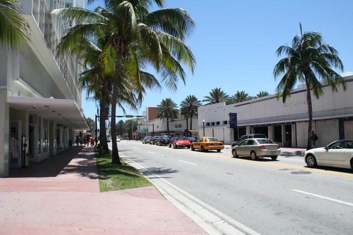 Vinylová Tapeta Miami Beach na ulici - Prázdniny