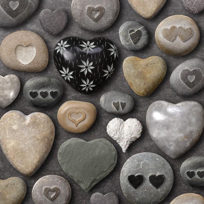 Vinylová Tapeta Ve tvaru srdce kameny a skály - Mezinárodní svátky