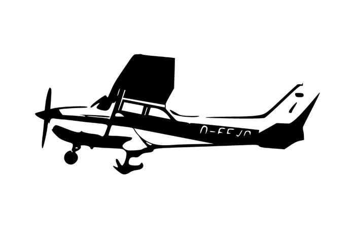 Vinylová Tapeta Leichtflugzeug - Vzduch