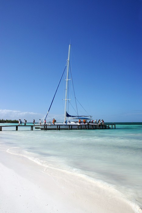 Vinylová Tapeta Caribbean Beach Front Ocean View V Varadero, Kuba - Témata