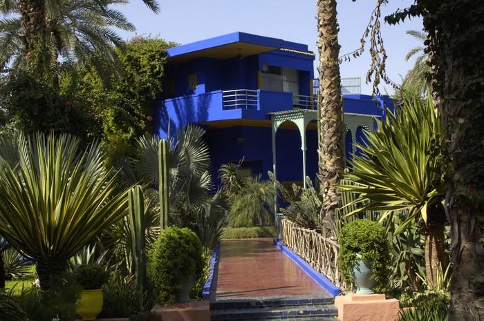 Maroc Marrakech Jardin Majorelle Wall Mural Pixers We Live To