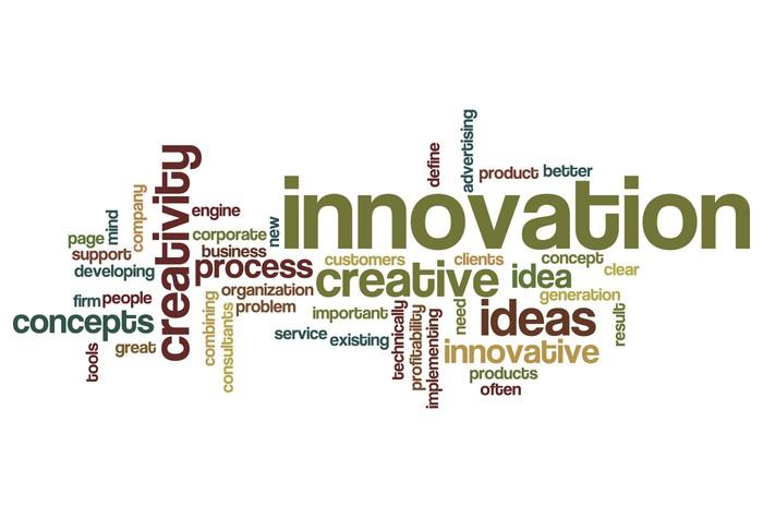 Vinylová Tapeta Inovace slovo mrak - Prvky podnikání