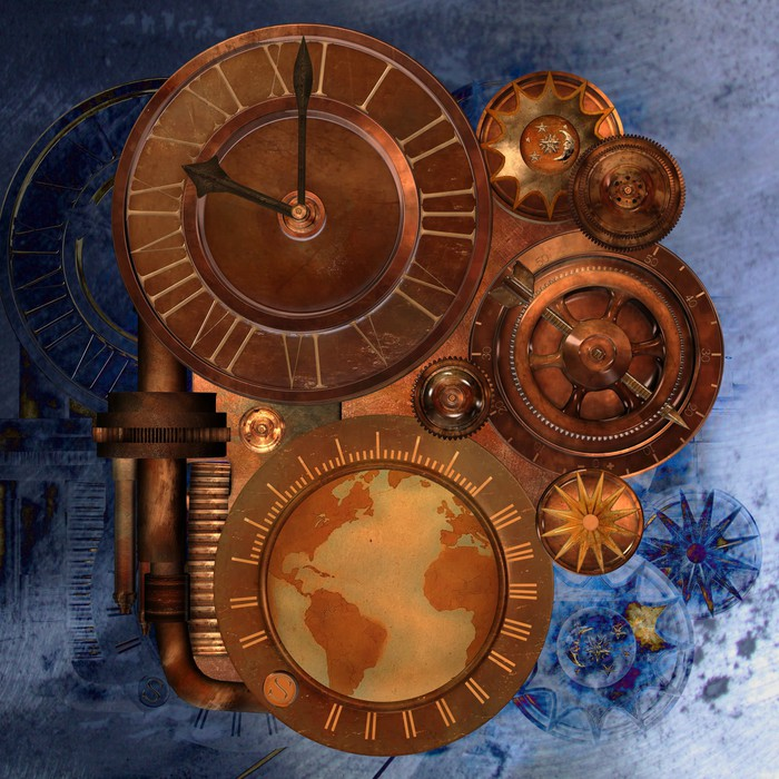 steampunk Wall Mural • Pixers • We live to change