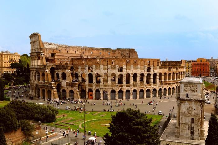 Vinylová Tapeta Koloseum v Římě - Témata