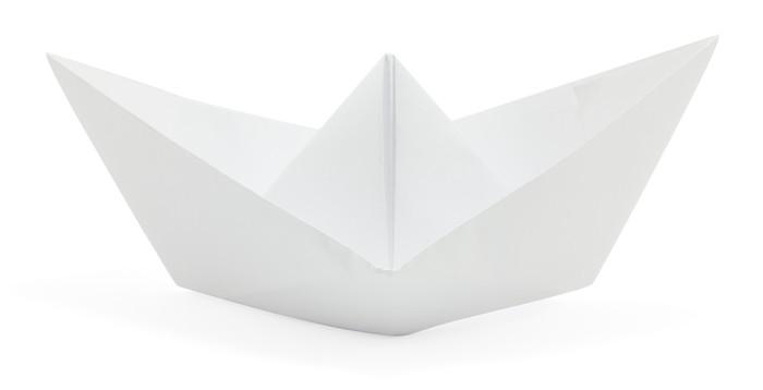 Adesivo Barchetta Di Carta Pixers Viviamo Per Il Cambiamento