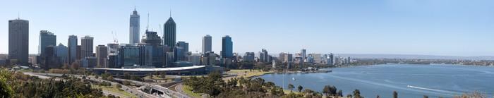 Vinylová fototapeta Perth Highway Panorama - Vinylová fototapeta