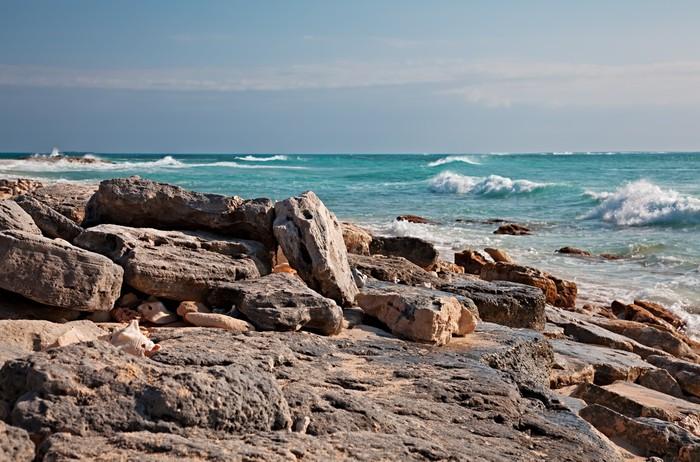 Vinylová Tapeta Pláž u hotelu Grand Turk Island, Karibiku - Amerika