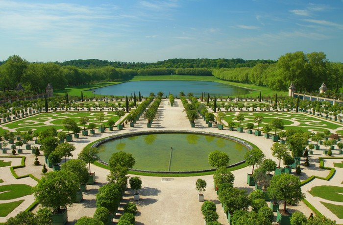 Fototapete i giardini di versailles u pixers wir leben um zu