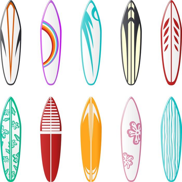 Fotomural dise os de tablas de surf pixers vivimos - Disenos de tablas de surf ...