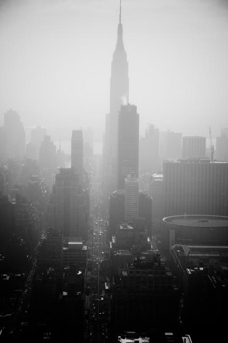Pixerstick Aufkleber Die stadt new york -