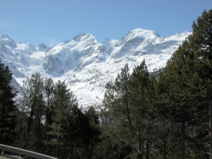 Vinylová Tapeta Bernina - Zimní sporty