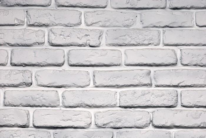 Carta da parati muro di mattoni dipinti pixers for Carta da parati muro di mattoni