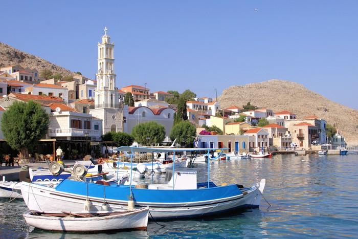 Vinylová Tapeta Insel Chalki, Griechenland - Evropa
