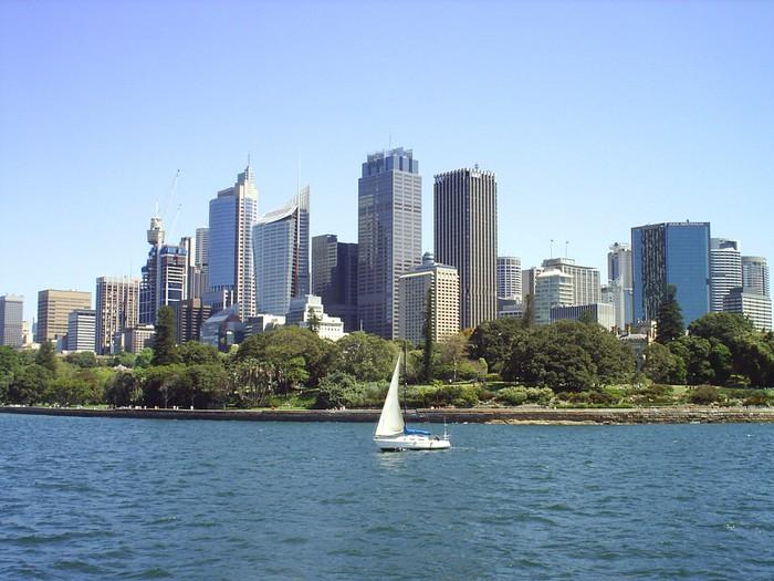 Vinylová Tapeta Sydney skyline - Město