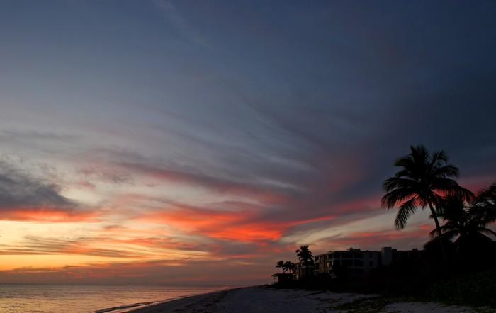 Vinylová Tapeta Přímořské Beach Condominium - Nebe