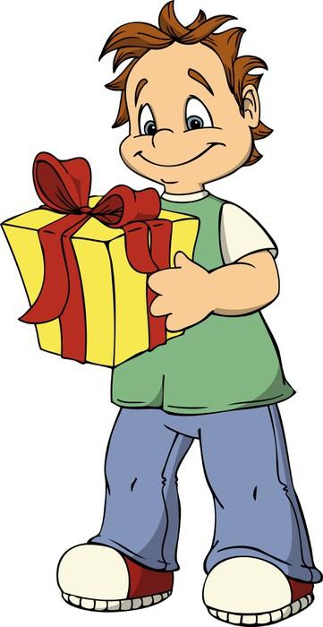 Vinylová Tapeta Chlapec, narozeninám, dárek, dítě, vánoce - Slavnosti