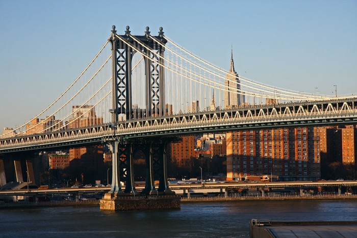 Vinylová Tapeta Manhattan bridge - Amerika