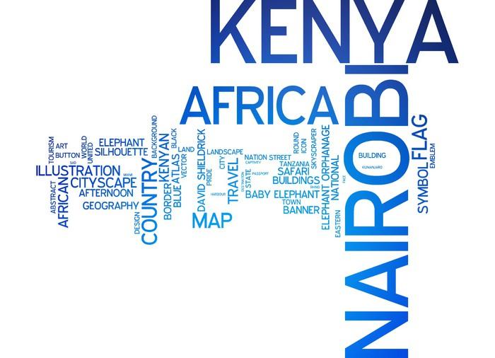 Vinylová Tapeta Nairobi, Keňa - Afrika