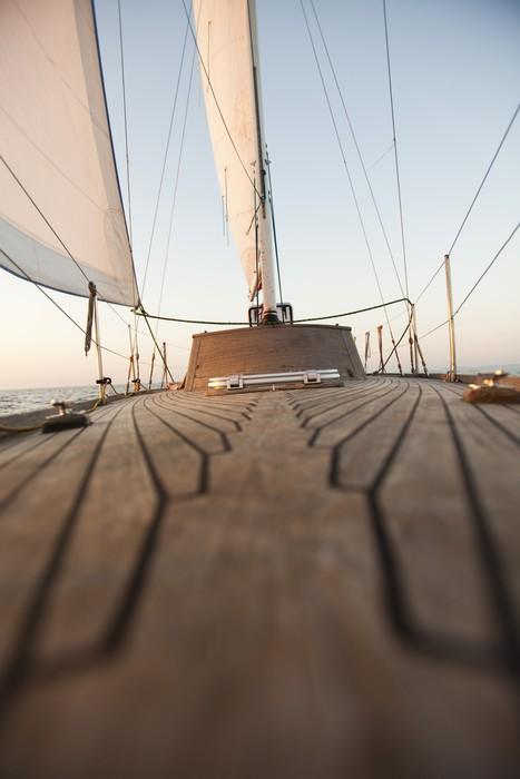 Vinylová Tapeta Sailing detail - Lodě