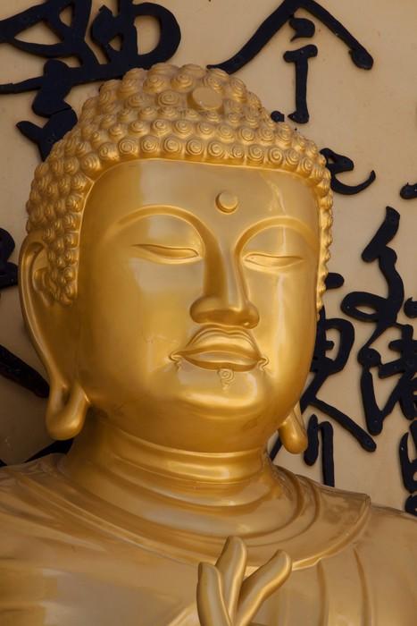 Vinylová Tapeta Zlatý buddha obraz - Náboženství