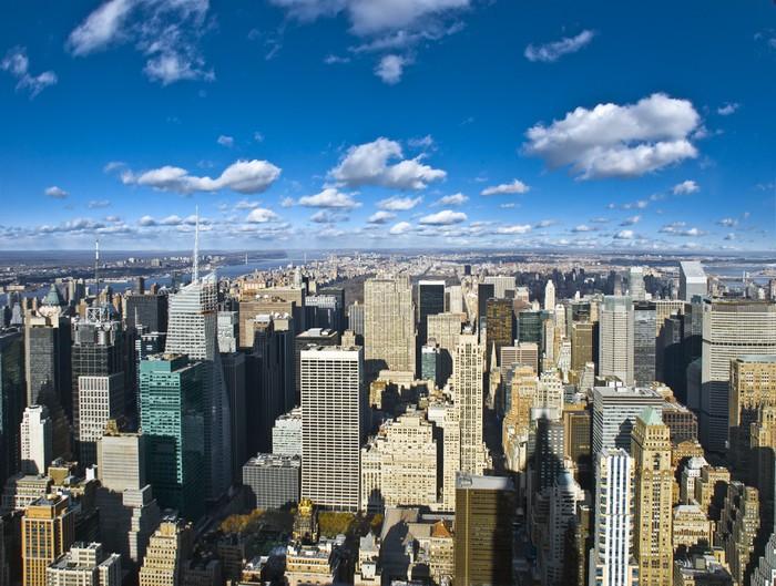 Vinylová Tapeta The New York City panorama - Amerika